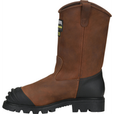 "Matterhorn Men's Longwall 11"" Stl Toe WP MG USA Made Work Boot- Brown- MT210  - Overlook Boots"