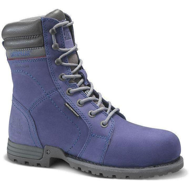 CAT Women's Echo Waterproof Steel Toe Work Boot - Purple - P90567 5 / Medium / Purple - Overlook Boots
