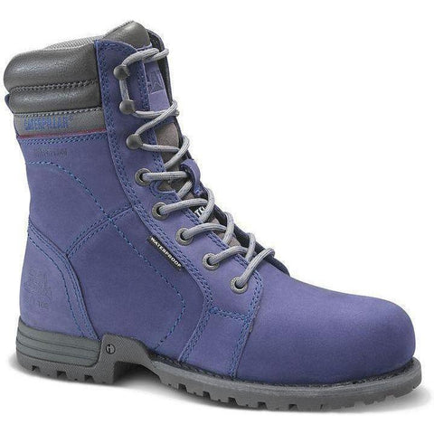 CAT Women's Echo Waterproof Steel Toe Work Boot - Purple - P90567  - Overlook Boots