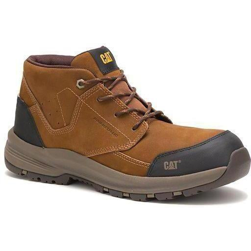 CAT Men's Resolve Mid Composite Toe Work Shoe - Brown - P91036 7 / Medium / Brown - Overlook Boots