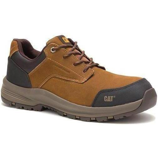 CAT Men's Resolve Composite Toe Work Shoe - Brown - P91039 7 / Medium / Brown - Overlook Boots