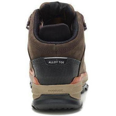 CAT Men's Utilize Waterproof Alloy Toe Work Boot - Brown - P91054  - Overlook Boots