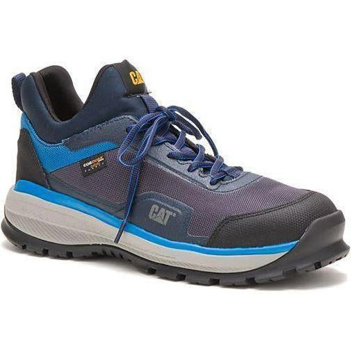 CAT Men's Engage Alloy Toe Work Shoe - Blue - P91074 7 / Medium / Blue - Overlook Boots
