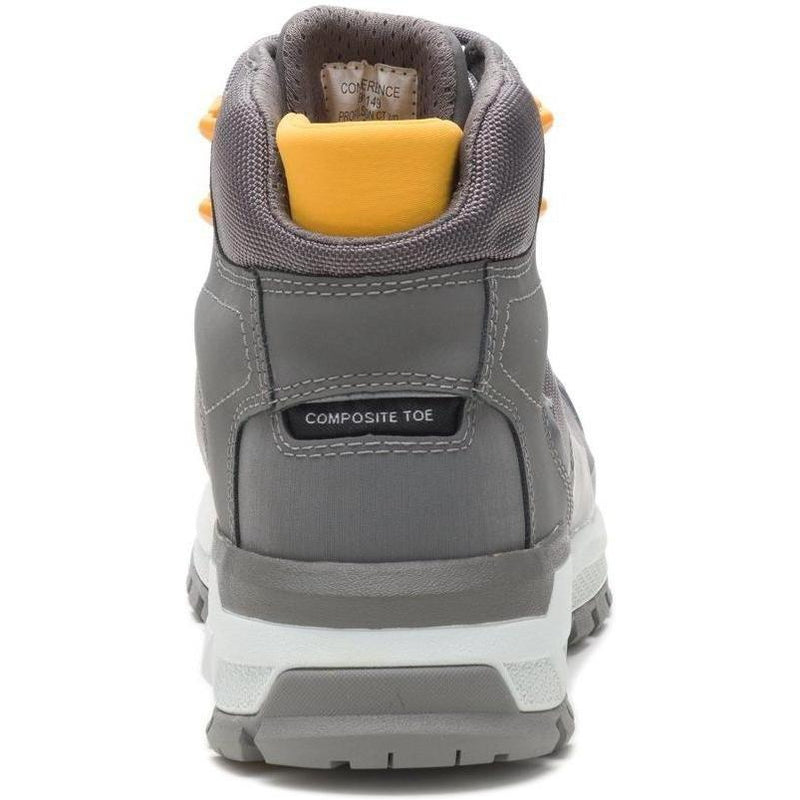 CAT Women's Propulsion Comp Toe WP Work Boot - Charcoal - P91149  - Overlook Boots