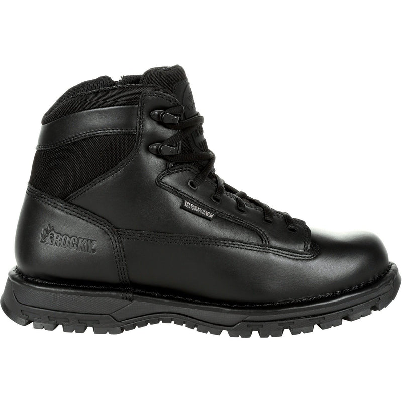 "Rocky Men's Portland 6"" Comp Toe WP Rubber Public Service Boot- RKD0071  - Overlook Boots"