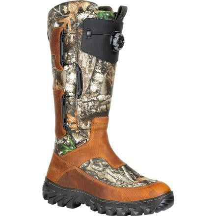 "Rocky Men's King Snake Boa 16"" WP Snake Boot - Realtree - RKS0419 8 / Medium / Realtree - Overlook Boots"