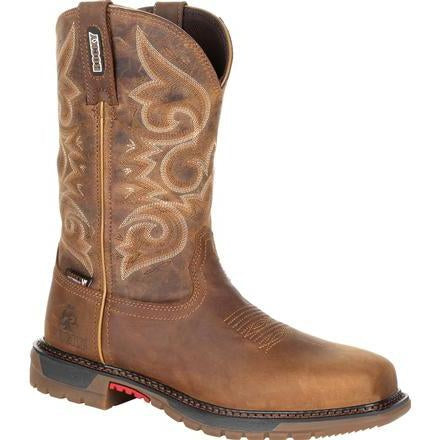 Rocky Women's Original Ride FLX CT WP Western Boot - Brown - RKW0284 6 / Medium / Brown - Overlook Boots