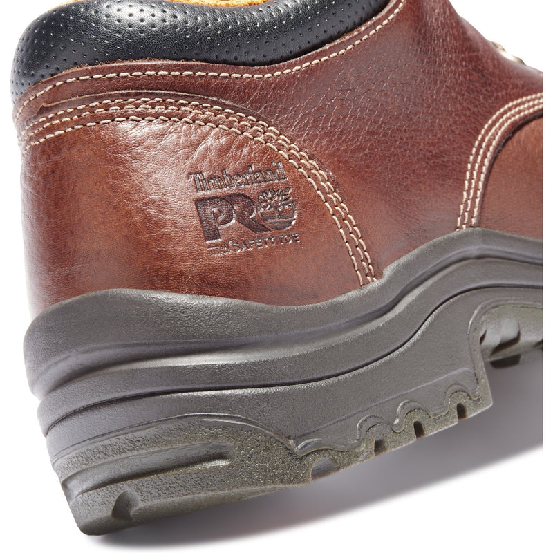 Timberland PRO Men's TiTAN Oxfrd Alloy Toe Work Shoe Brown TB047028210  - Overlook Boots