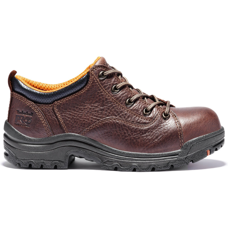 Timberland PRO Women's TITAN Alloy Toe Work Shoe - Brown - TB063189214  - Overlook Boots
