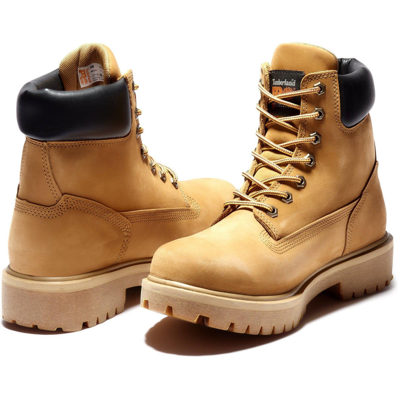 "Timberland PRO Men's Direct Attach 6"" WP Ins Work Boot TB065030713  - Overlook Boots"
