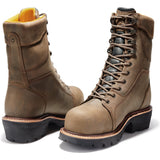 Timberland PRO Men's Rip Saw Comp Toe WP Ins Logger Work Boot - TB089656214  - Overlook Boots