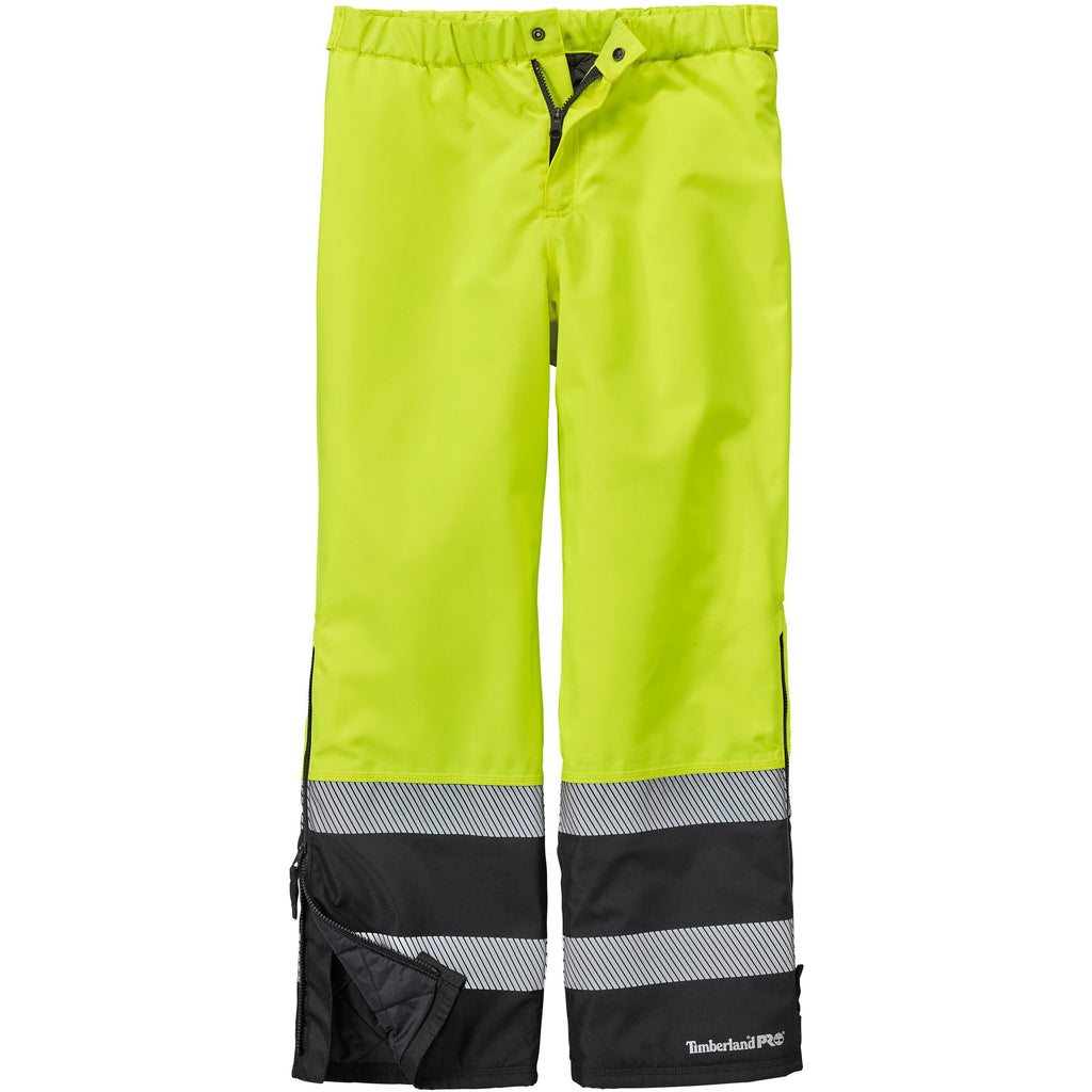 Timberland Pro Men's Work Sight High-Visibility Ins Pant TB0A1HMUI47 Small / Yellow - Overlook Boots