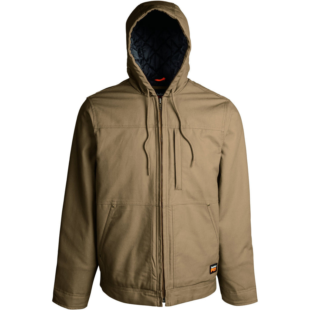 Timberland Pro Men's Baluster Insulated Hooded Work Jacket TB0A1HVED02 Small / Brown - Overlook Boots