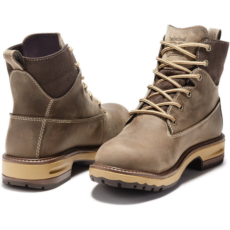 "Timberland PRO Women's Hightower 6"" Alloy Toe WP Work Boot TB0A1KIT214  - Overlook Boots"