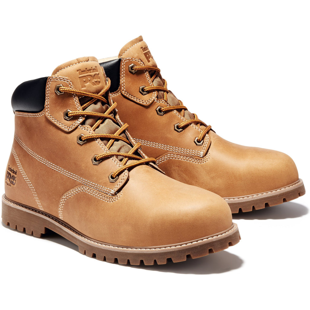 "Timberland PRO Men's Gritstone 6"" Steel Toe Work Boot - TB0A1Q8K231 8.5 / Medium / Wheat - Overlook Boots"