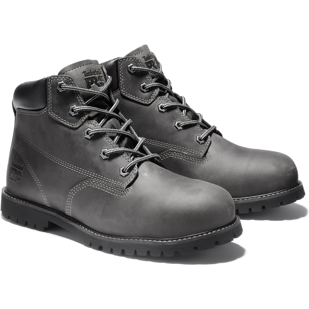 "Timberland PRO Men's Gritstone 6"" Steel Toe Work Boot - TB0A1Q8M001 8.5 / Medium / Black - Overlook Boots"