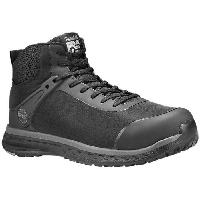 Timberland PRO Men's Drivetrain Comp Toe Work Boot Black - TB0A1S5M001 8.5 / Medium / Black - Overlook Boots