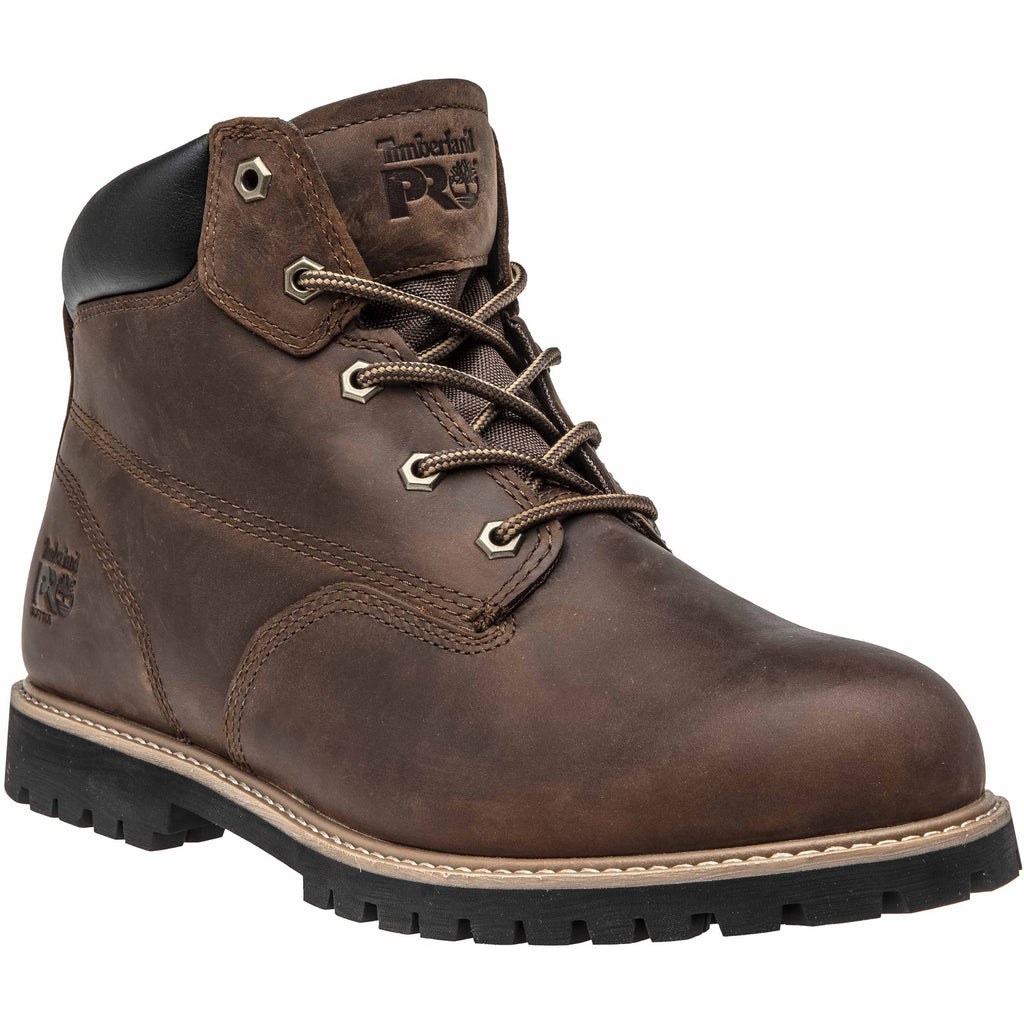 "Timberland PRO Men's Gritsone 6"" Work Boot - Brown - TB0A1WG2214 7 / Medium / Brown - Overlook Boots"