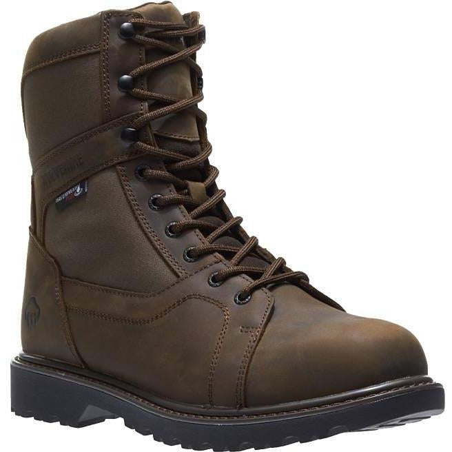 "Wolverine Men's Blackhorn 8"" WP Insulated Hunt Boot - Brown - W30174  - Overlook Boots"