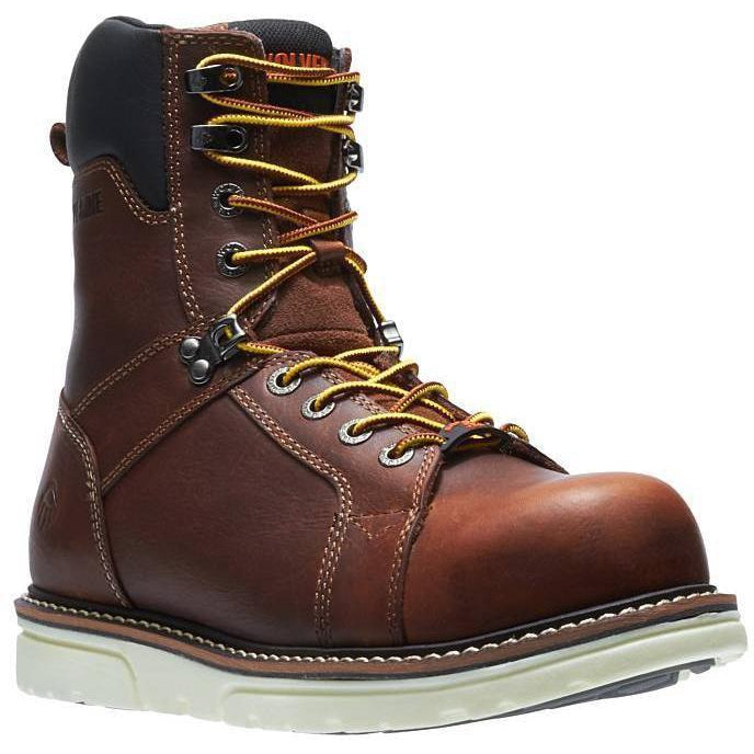 "Wolverrine Men's 8""  1-90  Durashocks Carbonmax Wedge Work Boot W10889  - Overlook Boots"