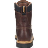 "Carolina Men's 8"" Grind WP MetGuard Comp Toe Work Boot Brown - CA9585  - Overlook Boots"