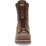 "Carolina Men's Birch 8"" Waterproof Logger Work Boot - Brown - CA7022  - Overlook Boots"