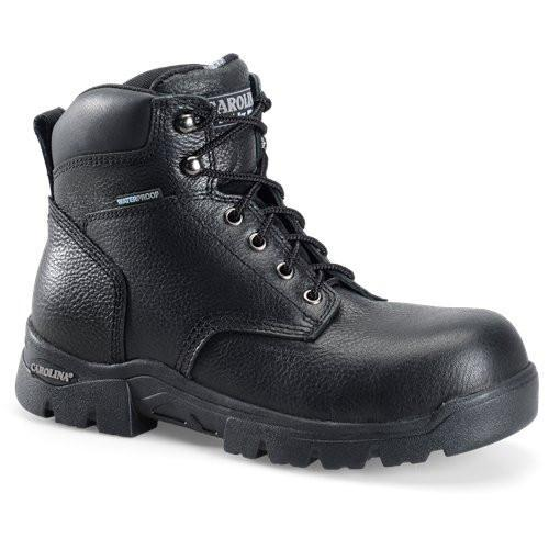 "Carolina Men's Circuit 6"" Comp Toe WP Hiker Work Boot -Black - CA3537 8 / Medium / Black - Overlook Boots"