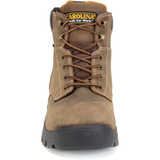 "Carolina Men's Circuit 6"" Comp Toe WP Hiker Work Boot - Brown - CA3536  - Overlook Boots"
