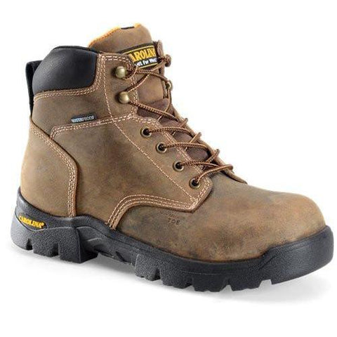 "Carolina Men's Circuit 6"" Comp Toe WP Hiker Work Boot - Brown - CA3536 8 / Medium / Brown - Overlook Boots"