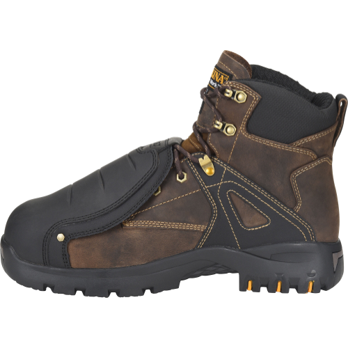 "Carolina Men's Miter 6"" Comp Toe WP Metguard Work Boot Brown - CA5586  - Overlook Boots"