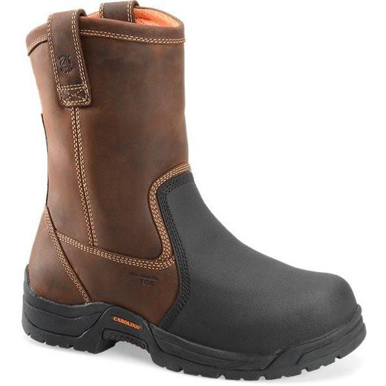 Carolina Men's Well X MetGuard Wellington Work Boot - Brown - CA4582 8 / Medium / Brown - Overlook Boots
