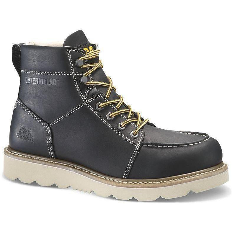 "CAT Men's Tradesman 6"" Work Boot - Black - P74131  - Overlook Boots"