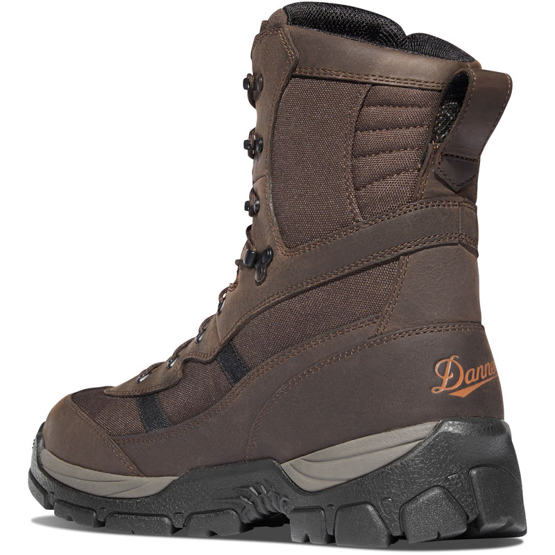 "Danner Men's Alsea 8"" WP 400G Insulated Hunt Boot -Brown - 46722  - Overlook Boots"