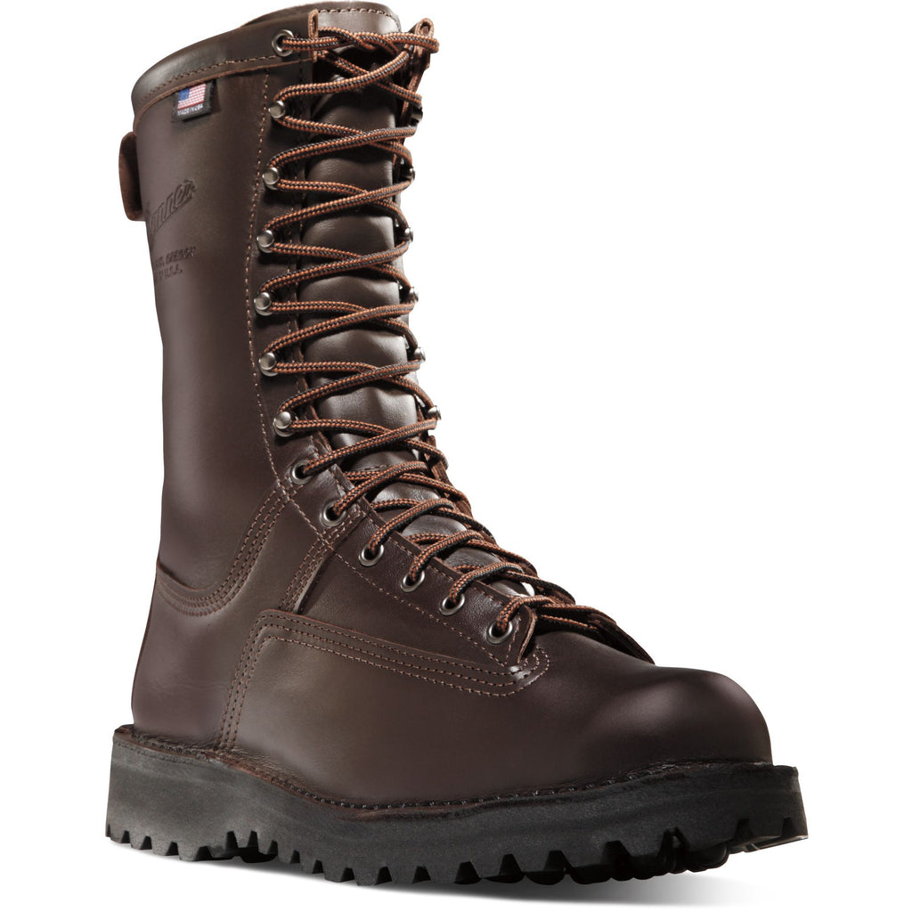 "Danner Men's Canadian USA Made 10"" Insulated WP Hunt Boot - 67200 7 / Medium / Brown - Overlook Boots"
