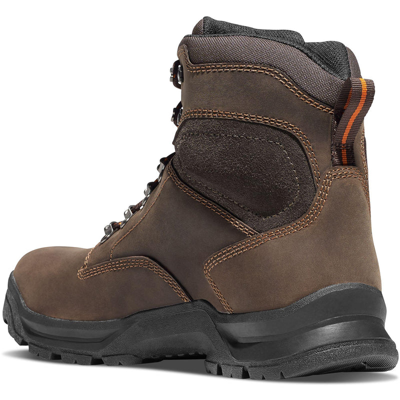 "Danner Men's Crafter 6"" Soft Toe WP Work Boot - Brown - 12433  - Overlook Boots"