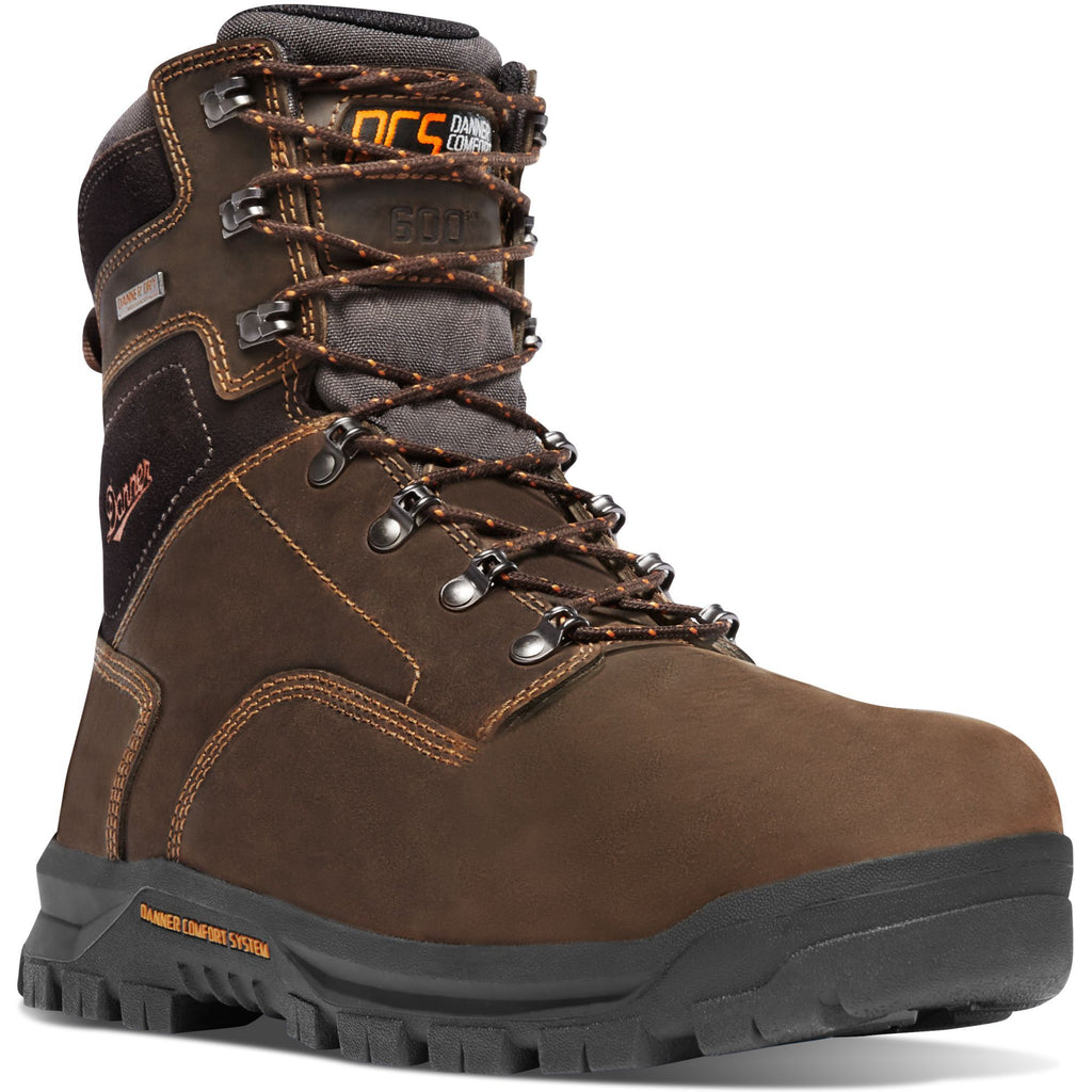 Danner Men S Crafter 8 Quot Comp Toe Insulated Wp Work Boot
