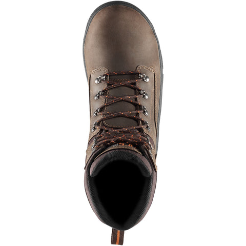 Danner Men S Crafter 8 Quot Soft Toe Wp Work Boot Brown
