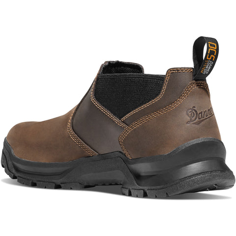 "Danner Men's Crafter Romeo 3"" Work Shoe - Brown - 12441 7.5 / Medium / Brown - Overlook Boots"