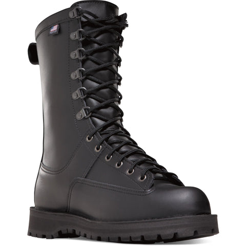 "Danner Men's Fort Lewis USA Made 10"" WP Duty Boot - Black - 29110 7 / Medium / Black - Overlook Boots"