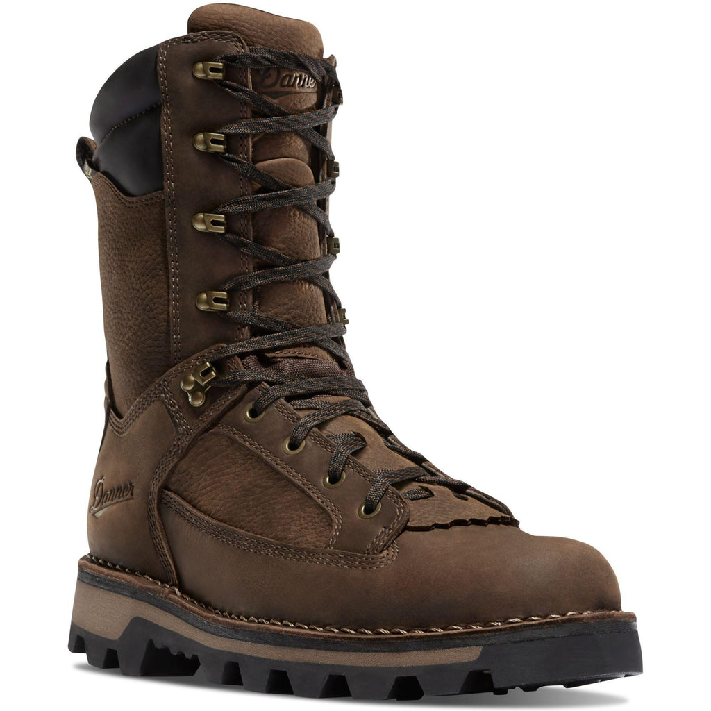 "Danner Men's Powderhorn 10"" Waterproof Hunt Boot - Brown - 43141 7 / Medium / Brown - Overlook Boots"