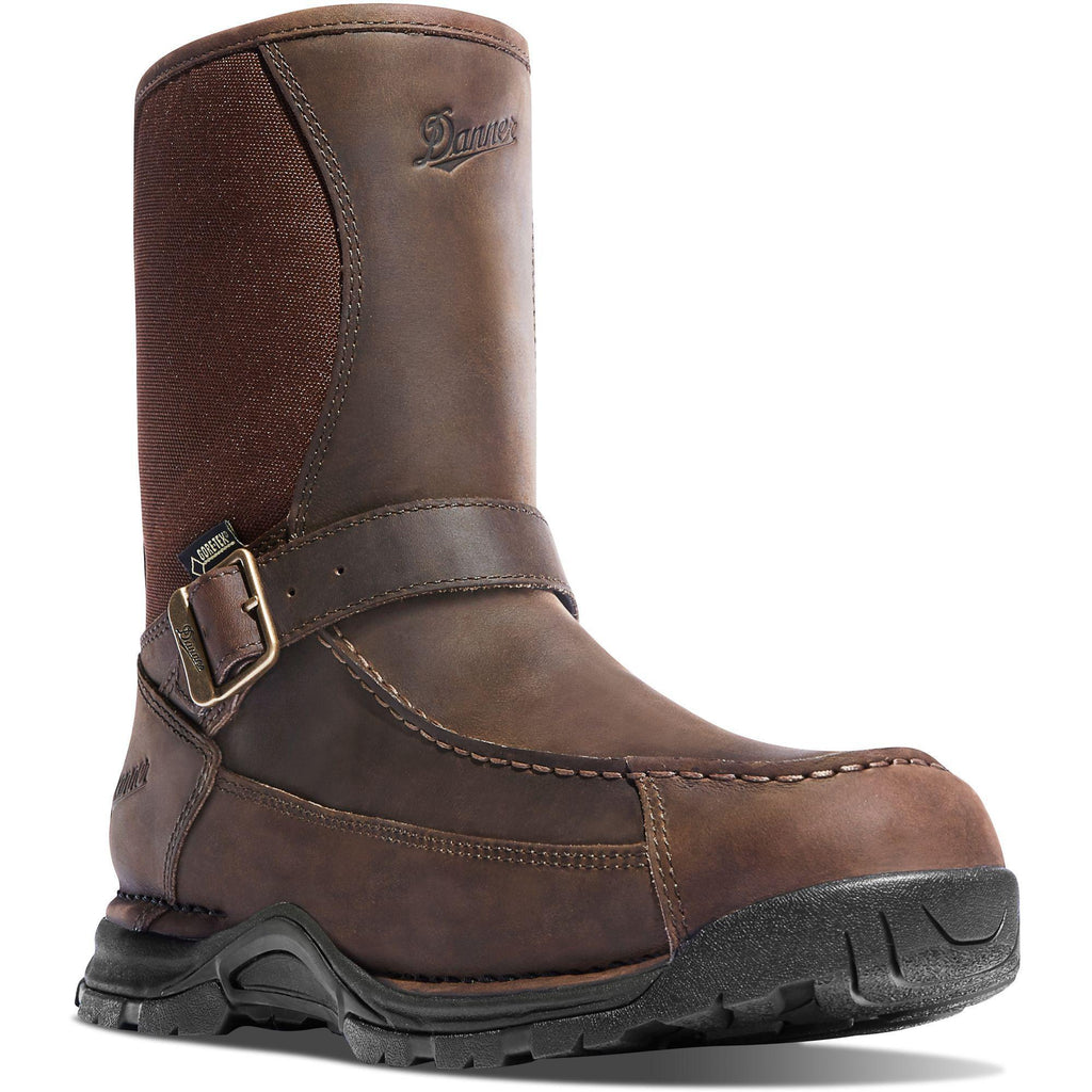 "Danner Men's Sharptail 10"" Rear Zip Waterproof Hunt Boot Brown - 45025 7 / Medium / Brown - Overlook Boots"