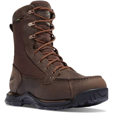 "Danner Men's Sharptail 8""Waterproof Hunt Boot - Dark Brown - 45026 7 / Medium / Brown - Overlook Boots"