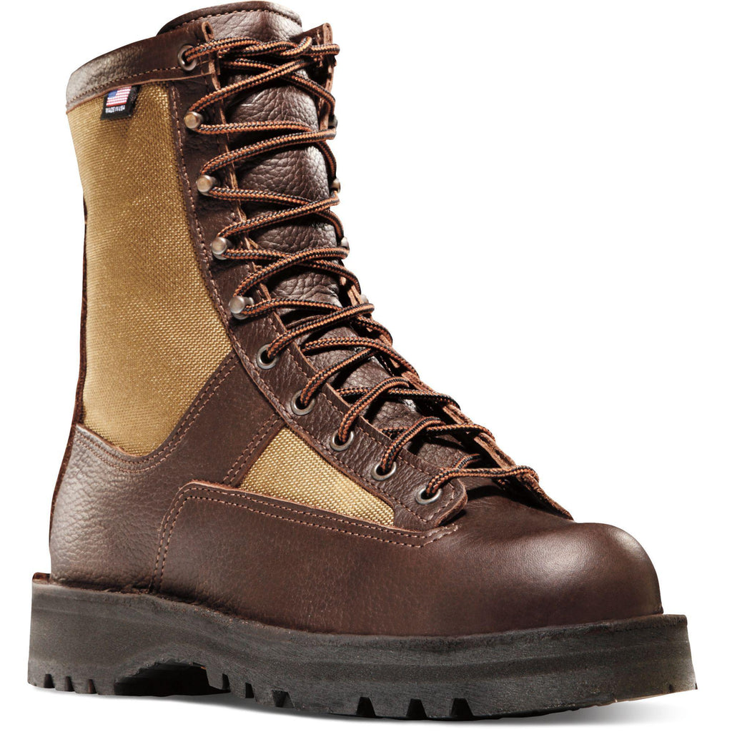 "Danner Men's Sierra 8"" USA Made Insulated WP Hunt Boot - Brown - 63100 7 / Medium / Brown - Overlook Boots"