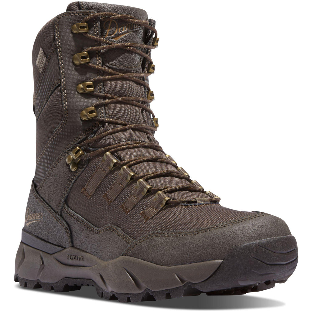 "Danner Men's Vital 8"" 400G Insulated WP Hunt Boot - Brown - 41556  - Overlook Boots"