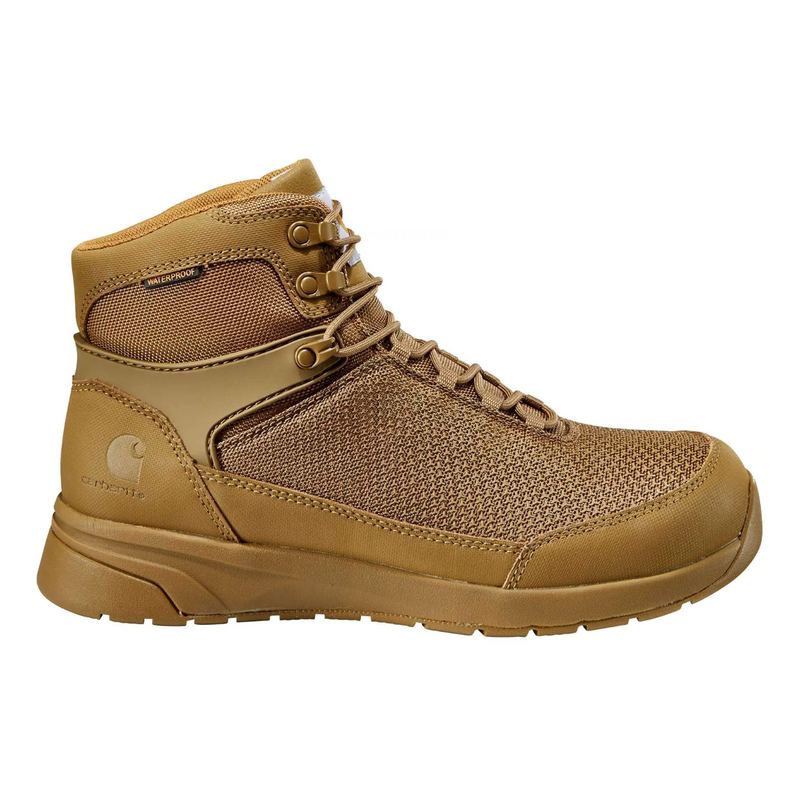 "Carhartt Men's Force 6"" Soft Toe WP Work Boot - Brown - CMA6026  - Overlook Boots"