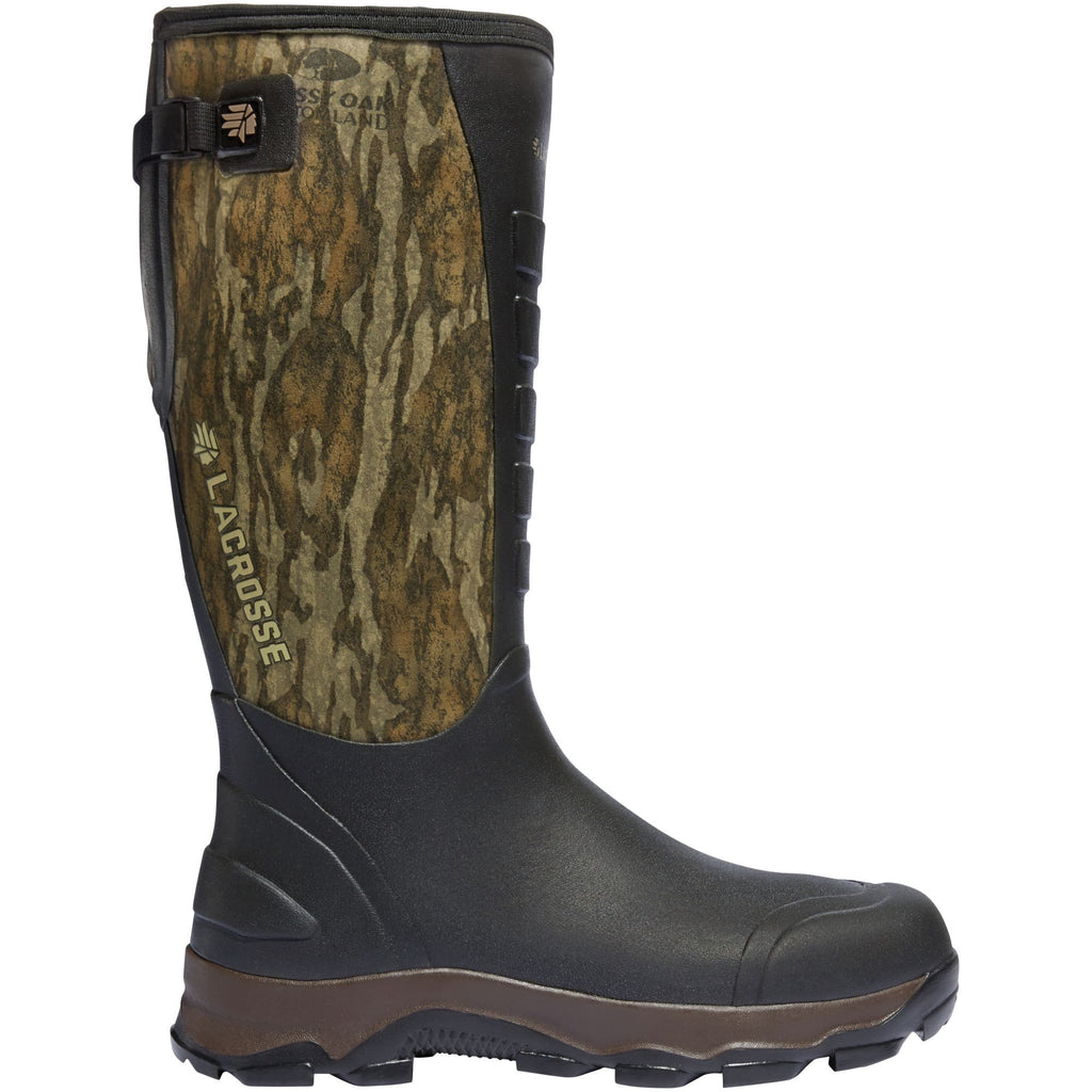 "LaCrosse Men's 4x Alpha 16"" Ins Rubber Hunt Boot - Mossy Oak - 376104  - Overlook Boots"