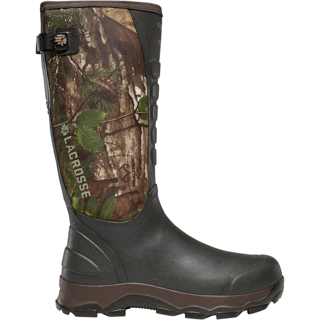 "LaCrosse Men's 4xAlpha Boot 16"" Rubber Hunt Boot Realtree Xtra- 376121 7 / Realtree Xtra - Overlook Boots"