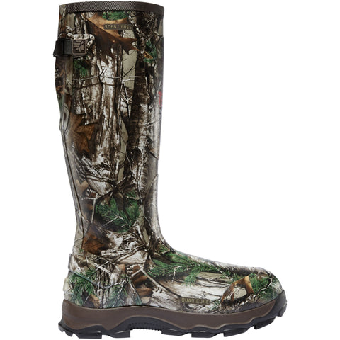 "LaCrosse Men's 4xBurly 18"" Ins Rubber Hunt Boot Realtree Xtra - 202006  - Overlook Boots"