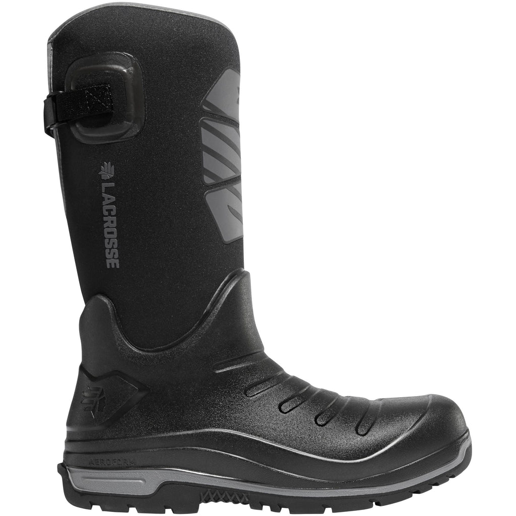 "LaCrosse Men's Aero Insulator 14"" Rubber Work Boot - Black - 664550  - Overlook Boots"