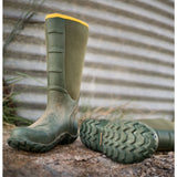 "LaCrosse Men's Alpha Lite 16"" Ins Rubber Work Boot - Green - 200062  - Overlook Boots"